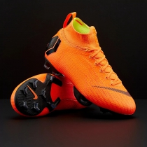儿童足球鞋Nike Mercurial Superfly VI FG耐克刺客12 AH7340-810