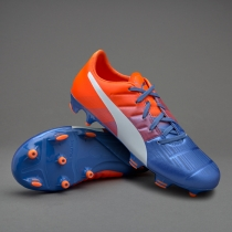 儿童足球鞋Puma Kids evoPOWER 3.3 FG 彪马10355703【足球帝】