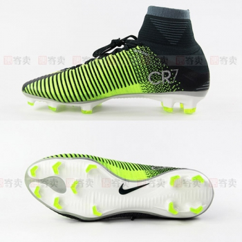 【偶寄卖 SS级 US9=EUR42.5=JP270】NIKE MERCURIAL SUPERFLY V CR7 FG刺客SF5超顶级高帮CR7专属852511-376