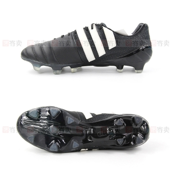 【偶寄卖 SS级 US8 1/2=EUR42=JP265】adidas Pure Leather Nitrocharge 1.0 FG狂战士限量款袋鼠皮足球鞋B23746